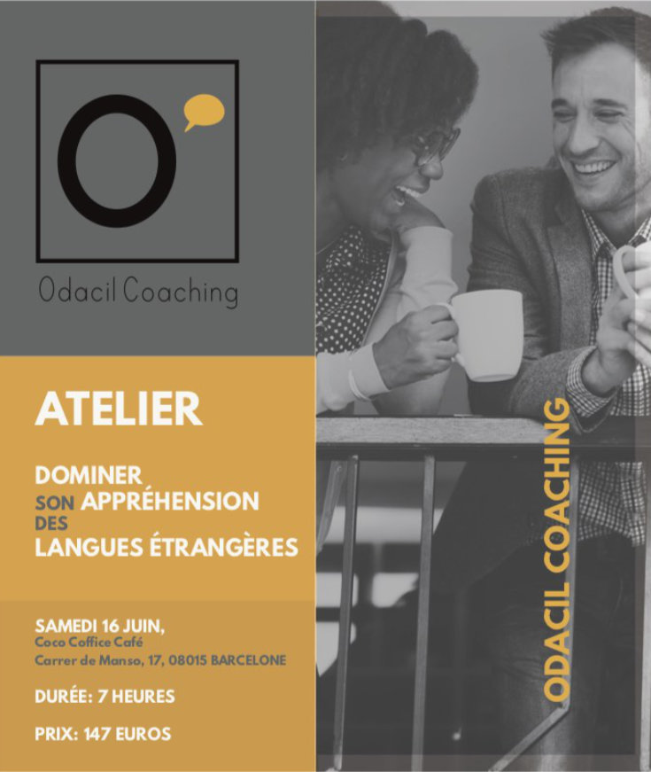 Dominer son appréhension des langues étrangères (atelier à Barcelone)